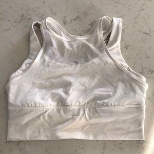 lululemon white sports bra